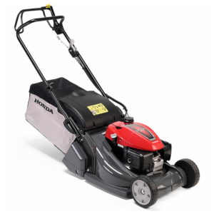 Honda HRX476QY Self-Propelled Rotary Roller Petrol Lawnmower