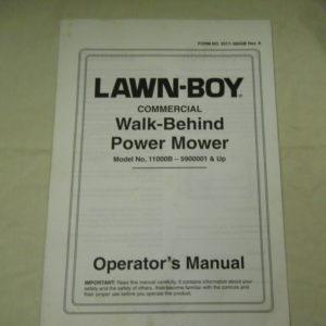 Lawn-Boy Service Operator Manuals