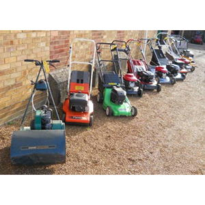 Various Second-Hand Walk Behind Mowers